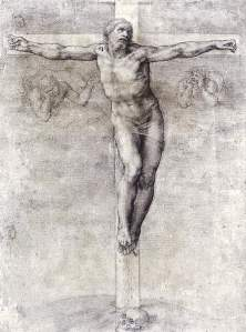 By Michelangelo - On the cross with the skull