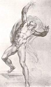 By Michelangelo - The risen Christ