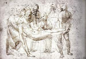 By Raphael - Studies for the burying