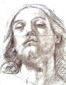By Reni, Guido - The face of Christ