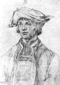 By Dürer - Lucas van Leyden portrayed