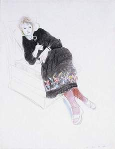 By Hockney -  Celia