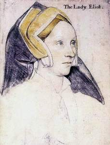 By Holbein, Hans the Younger - Lady Eliot