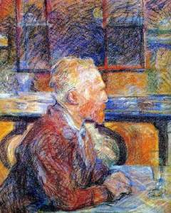 By Toulouse-Lautrec - Vincent van Gogh portrayed