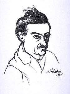 By Valadon, Suzanne - Maurice Utrillo portrayed