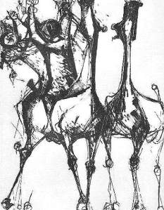 By Marini, M. - On horseback