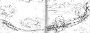 By Monet - The water-lily pond (Sketch in two sheets)