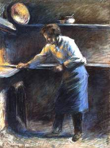 By Pissarro - The baker