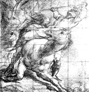 By Titian - Warrior riding