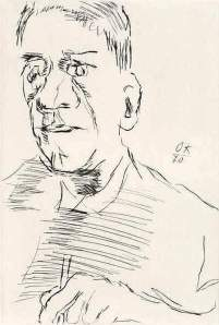 By Kokoschka - The artist seen by himself