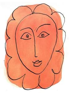 By Matisse - The 'girl-flower'