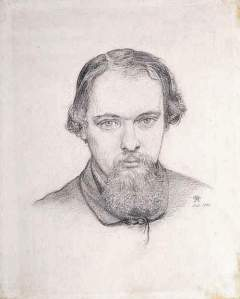 By Rossetti, Dante Gabriel - The artist seen by himself