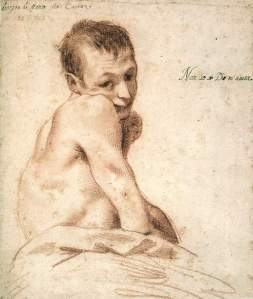 By Carracci - 'I don't know if God helps me'