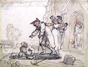 By Rowlandson - The undertaker