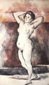 By Cézanne - Standing woman