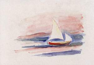 By Renoir - Sailboat