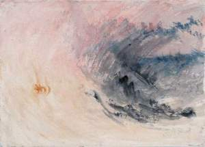 By Turner - Wave under a tempest