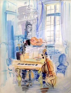 By Dufy, Raoul - Room music instruments