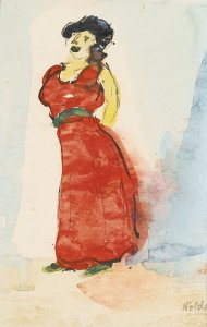 By Nolde - Grotesque singer