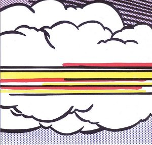 By Lichtenstein - An study of the sky