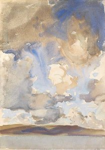 By Singer Sargent, J. - Study of the sky