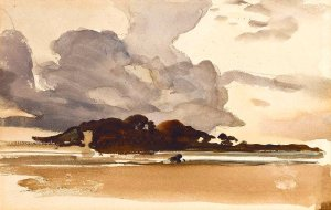 By Zuber, Henri - Clouds of tempest