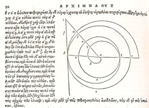 By Archimedes of Syracuse (The Number Pi man) 3th century BC - Untitled