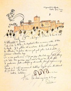 By Federico Garcia Lorca - 'La bella ciudad de Granada' (Granada beautiful city)
