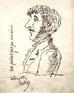 By Gaetano Donizetti - Seen by himself in profile