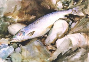 By Singer Sargent - The fishing fruits