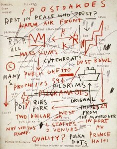 By Basquiat, Jean Michel - Unknown title