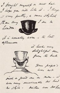 By Burne-Jones, E. - Explanations about the top hat's use