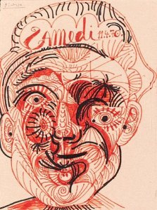 By Picasso - A face for a Saturday