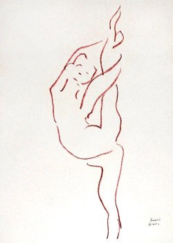 By Matisse - Acrobat dancer